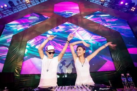 Lễ hội âm nhạc top 10 DJ thế giới và sao Việt   - ảnh 2