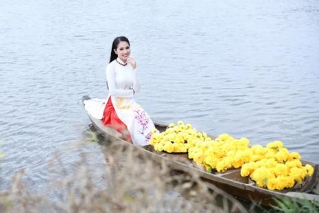 Hoa hậu Dương Kim Ánh làm MV đầu tay bước vào ca hát - ảnh 4