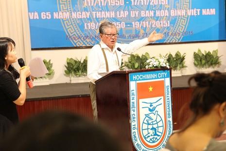 Bà Tôn Nữ Thị Ninh: Hòa bình không tự nhiên mà có - ảnh 2