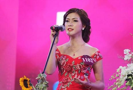Đặng Mỹ Huyền đăng quang Hoa khôi Nữ sinh viên Việt Nam  - ảnh 3