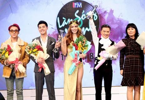 Sơn Tùng MTP và Tiên Tiên đại thắng 'Làn Sóng Xanh 2015' - ảnh 7