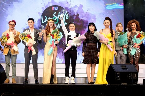 Sơn Tùng MTP và Tiên Tiên đại thắng 'Làn Sóng Xanh 2015' - ảnh 1