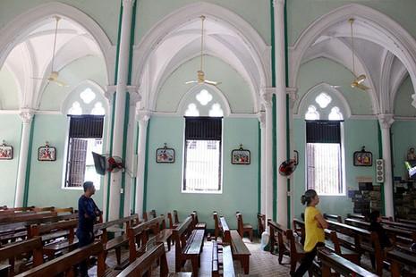 Khám phá nhà thờ trên 100 tuổi của người Hoa ở Sài Gòn - ảnh 9
