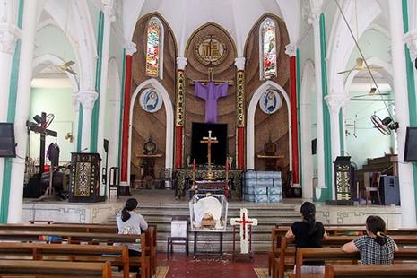Khám phá nhà thờ trên 100 tuổi của người Hoa ở Sài Gòn - ảnh 12