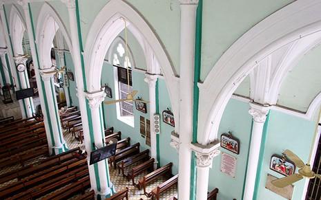 Khám phá nhà thờ trên 100 tuổi của người Hoa ở Sài Gòn - ảnh 7