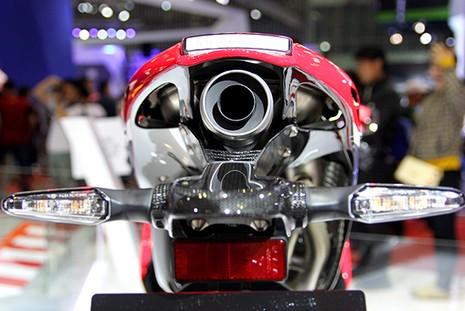 Siêu mô tô giá 5,5 tỉ đồng gây 'bão' tại Vietnam Motorcycle Show - ảnh 8