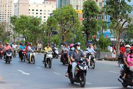TP.HCM: Cấm xe đi vào đường Nguyễn Huệ dịp lễ 30-4 - ảnh 1
