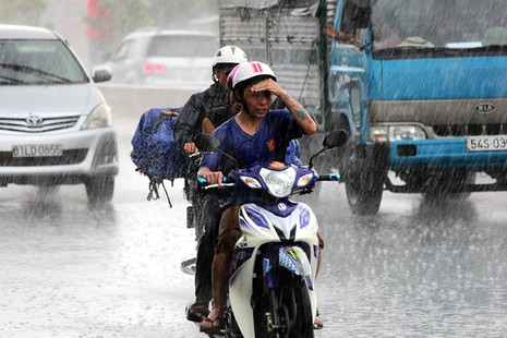 Cơn mưa 'vàng' thứ hai giải nhiệt cho Sài Gòn - ảnh 1