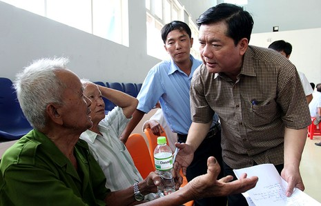 Toàn cảnh cuộc vận động bầu cử của ứng cử viên Đinh La Thăng - ảnh 1