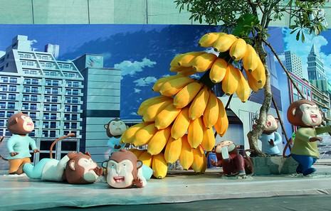 Lộ diện 101 chú khỉ trong khu vui chơi Hollywood tại TP.HCM - ảnh 3
