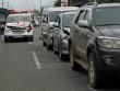 Tin tức - Xe cứu thương chở thi thể tông liên hoàn 4 ô tô