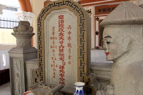 Choáng ngợp trước khu mộ cổ của vợ chồng bá hộ giàu nhất Sài Gòn xưa - ảnh 5
