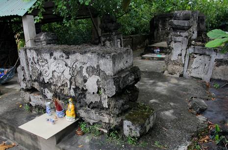 Chùm ảnh: Khu mộ cổ độc đáo gần 200 năm ở Gò Quéo  - ảnh 16