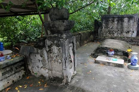 Chùm ảnh: Khu mộ cổ độc đáo gần 200 năm ở Gò Quéo  - ảnh 17