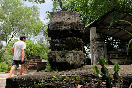 Chùm ảnh: Khu mộ cổ độc đáo gần 200 năm ở Gò Quéo  - ảnh 15