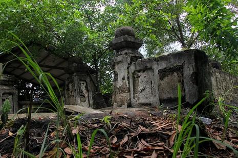 Chùm ảnh: Khu mộ cổ độc đáo gần 200 năm ở Gò Quéo  - ảnh 13