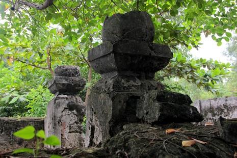 Chùm ảnh: Khu mộ cổ độc đáo gần 200 năm ở Gò Quéo  - ảnh 19