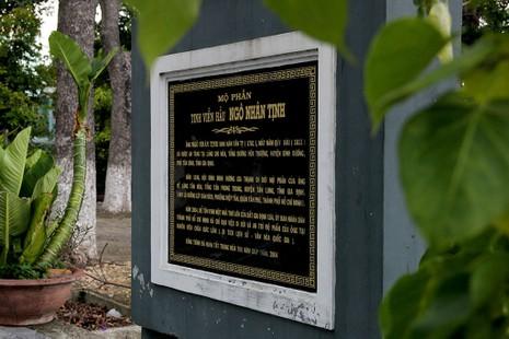 Hai lần di dời ngôi mộ cổ Thượng thư Ngô Nhân Tịnh  - ảnh 3