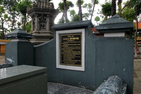 Hai lần di dời ngôi mộ cổ Thượng thư Ngô Nhân Tịnh  - ảnh 8