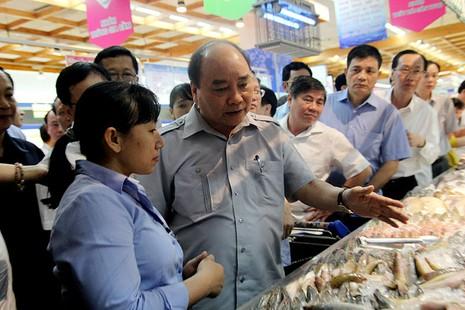 Thủ tướng bất ngờ vi hành ở TP.HCM - ảnh 7
