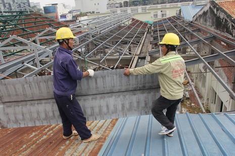 Đang đập Thương xá Tax để xây công trình 40 tầng - ảnh 13