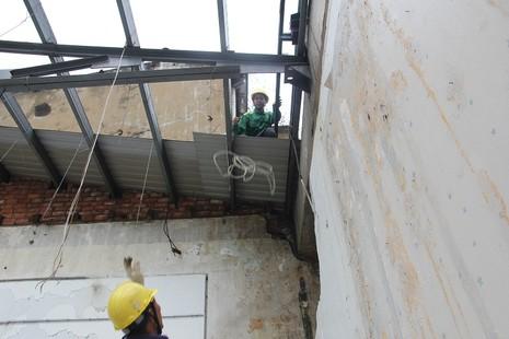 Đang đập Thương xá Tax để xây công trình 40 tầng - ảnh 14