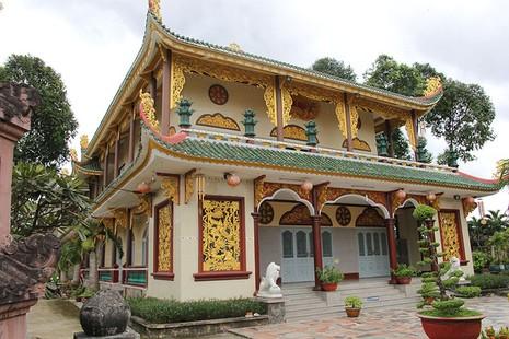 Diện mạo mới của ngôi chùa được xây dựng từ năm 1721 - ảnh 1