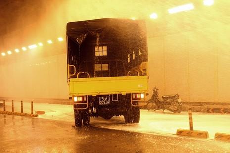 Diễn tập giải cứu 30 người bị tai nạn ở hầm Thủ Thiêm - ảnh 12