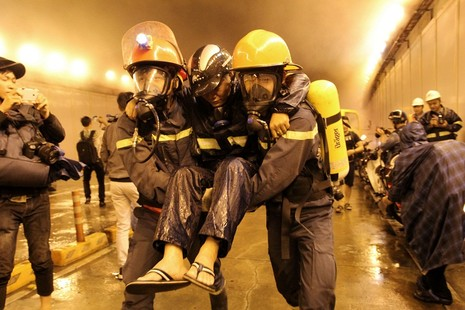 Diễn tập giải cứu 30 người bị tai nạn ở hầm Thủ Thiêm - ảnh 5