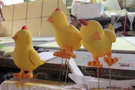 Đại gia đình gà sẵn sàng xuống phố đi bộ Nguyễn Huệ - ảnh 11
