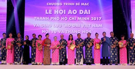 Bế mạc Lễ hội áo dài TP.HCM lần 4 năm 2017 - ảnh 3