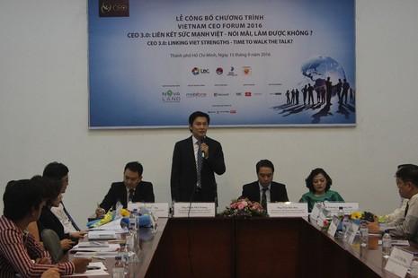 1.000 CEO hội tụ tại Việt Nam CEO Forum 2016 - ảnh 1