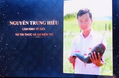 Gương công dân trẻ tiêu biểu Nguyễn Trung Hiếu