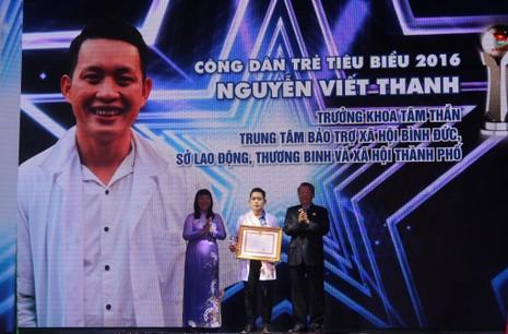 Gương công dân trẻ tiêu biểu Nguyễn Viết Thanh