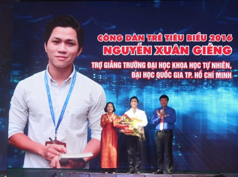 Gương công dân trẻ tiêu biểu Nguyễn Xuân Giềng