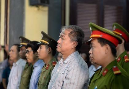 Bị cáo Phạm Công Danh tại tòa