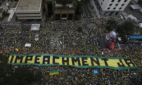 Siêu biểu tình lật đổ tổng thống Brazil - ảnh 2