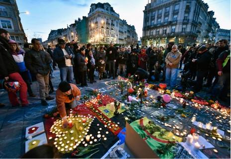 IS nhận trách nhiệm đánh bom Bỉ - ảnh 1