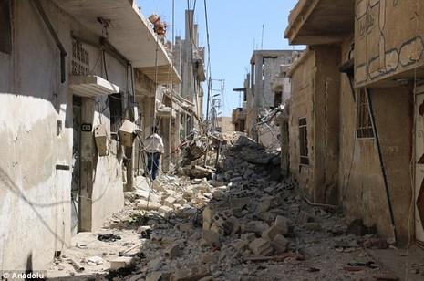 Hàng trăm công nhân Syria bị bắt cóc - ảnh 1