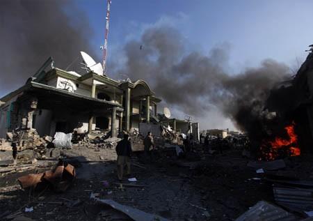 Pakistan đứng sau vụ đánh bom kinh hoàng nhắm vào CIA? - ảnh 1