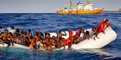 400 người tị nạn bỏ mạng trên Địa Trung Hải - ảnh 1