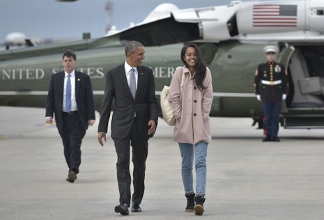 Con gái Tổng thống Obama sẽ vào đại học Harvard - ảnh 1