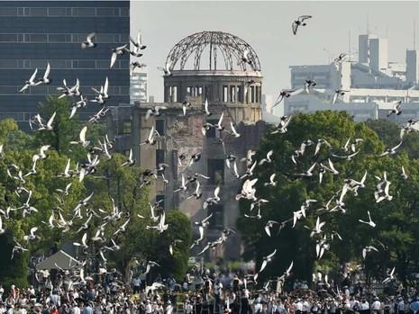 Obama sẽ là tổng thống Mỹ tại nhiệm đầu tiên thăm Hiroshima - ảnh 1
