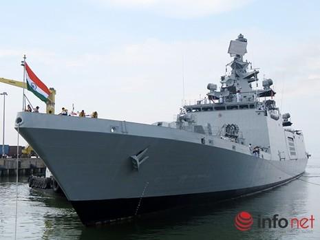 Ấn Độ đưa tàu khu trục tàng hình đến Cam Ranh - ảnh 2