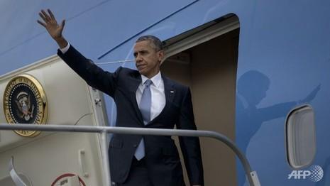 Họp báo công bố lịch trình thăm Việt Nam của Tổng thống Obama - ảnh 1