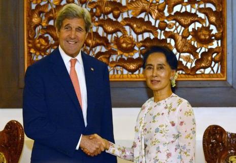 Ngoại trưởng Mỹ thăm Myanmar nhằm thúc đẩy dân chủ - ảnh 1