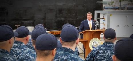 Bộ trưởng Quốc phòng Mỹ: Sẽ can dự lâu dài ở khu vực và biển Đông  - ảnh 1