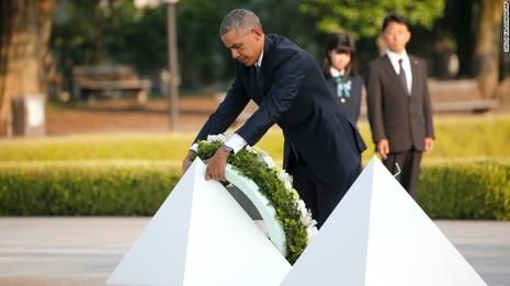 Tổng thống Obama thăm Hiroshima: Hãy vì một thế giới không vũ khí hạt nhân - ảnh 1