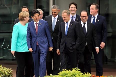 Trung Quốc tức giận với tuyên bố G7 về biển Đông - ảnh 1