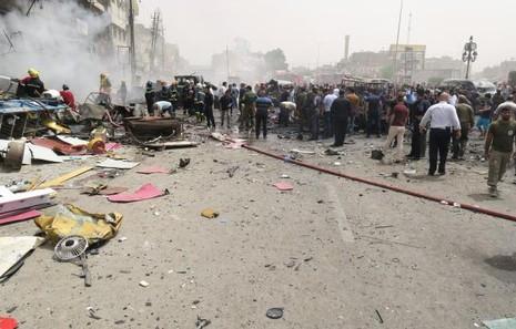 Hai vụ đánh bom ở Baghdad: 28 người chết, hơn 60 người bị thương - ảnh 1